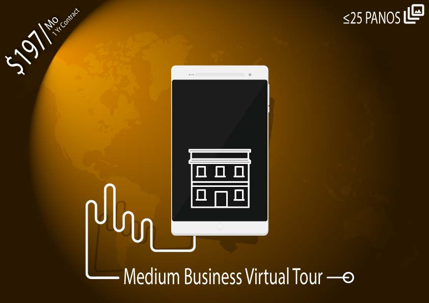 Monthly Virtual Tour Package – Medium Business