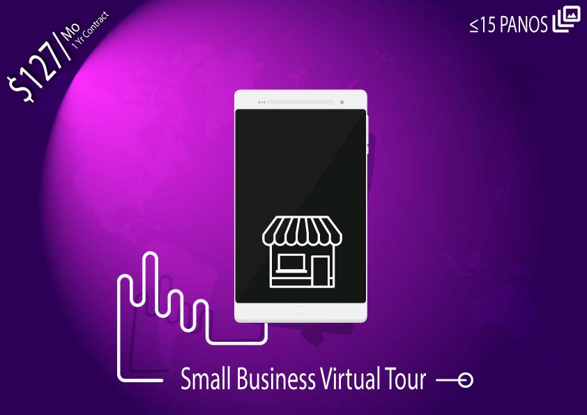 Monthly Virtual Tour Package – Small Business